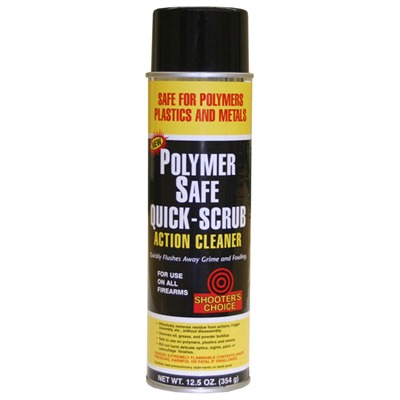 Polymer Safe Quick-Scrub Action Cleaner Shooters Choice.