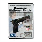 BROWNING HI-POWER PISTOLS TECHNICAL <b>MANUAL</b> & ARMORER&#39;S COURSE DVD