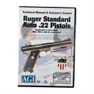 RUGER&reg; MKI&reg; TECHNICAL <b>MANUAL</b> AND ARMORER&#39;S COURSE DVD