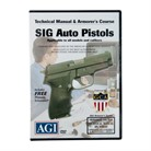 SIG SAUER PISTOLS TECHNICAL <b>MANUAL</b> AND ARMORER&#39;S COURSE DVD