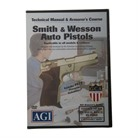S&W 1ST, 2ND, & 3RD GEN TECHNICAL MANUAL & ARMORER'S COURSE DVD