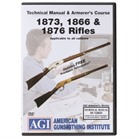 WINCHESTER 1866/1873/1876 RIFLES TECHNICAL MANUAL & ARMORER'S DVD