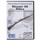 MAUSER 98 RIFLES TECHNICAL <b>MANUAL</b> AND ARMORER&#39;S COURSE DVD