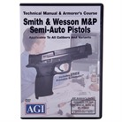 S&W M&P 1ST, 2ND AND 3RD GEN PISTOLS MANUAL & ARMORER'S DVD