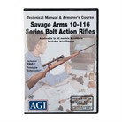 SAVAGE ARMS 10 THRU 116 SERIES MANUAL & ARMORER'S COURSE DVD