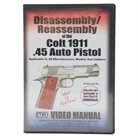 COLT 1911-ASSEMBLY AND DISASSEMBLY