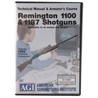 REMINGTON 110 AND 11-87 TECHNICAL <b>MANUAL</b> AND ARMORER&#39;S COURSE DVD