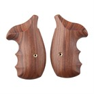 S&W REVOLVER EXOTIC WOOD GRIPS
