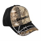 REALTREE AP XTRA/BLACK W/BARBED WIRE CAP