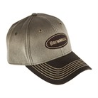 CANVAS TWO TONE BROWN CAP