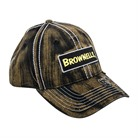 BROWN W/SQUARE LOGO & EMBROIDERED RAM CAP