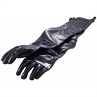 SANDBLAST CABINET GLOVE NORTON SANDBLASTING EQUIPMENT