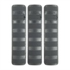 AR-15 PICATINNY BATTLE RAIL COVER 3-PK POLYMER