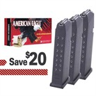 GLOCK MAGAZINES & AMMO PACKS