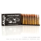 AMERICAN EAGLE TACTICAL AMMO 223 REM 55GR FMJ-BT CLIPS