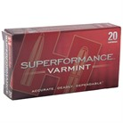 SUPERFORMANCE VARMINT AMMO 17 HORNET 15.5GR NTX LEAD-FREE