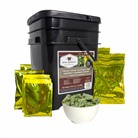 120 SERVING FREEZE DRIED VEGETABLE & SAUCE GRAB AND GO FOOD KIT