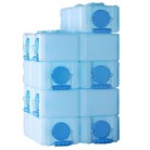 STACKABLE WATER AND FOOD STORAGE CONTAINTERS