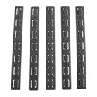 AR-15 KEYMOD RAIL PANEL KIT 5-PACK RUBBER