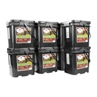 480 SERVING GOURMET FREEZE DRIED MEAT GRAB & GO FOOD KIT