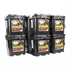600 SERVING GOURMET FREEZE DRIED MEAT GRAB & GO FOOD KIT