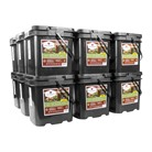 1080 SERVING GOURMET FREEZE DRIED MEAT GRAB & GO FOOD KIT