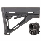 AR-15 CTR STOCK COLLAPSIBLE MIL-SPEC W/ FOLDING STOCK ADAPTER