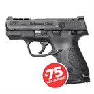 "M&P 9 SHIELD PERF CNTR PORTED NS 9MM 3.1"" 7+1"