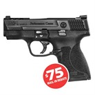 "M&P 45 SHIELD PERF CNTR NS 45 ACP 3.3"" 6+1"