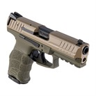 VP9 9MM 2/10 RND FDE SLIDE OD GRN FRAME