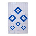 HI-VISIBILITY BLUE SERIES PAPER TARGETS