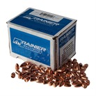 """9MM (0.355"""") 115GR PLATED ROUND NOSE BULLETS"""