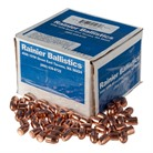 """40 CALIBER (0.400"""") 165GR PLATED ROUND NOSE FLAT POINT BULLETS"""