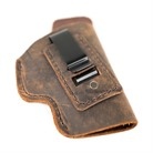 WATER BUFFALO SOFT LEATHER IWB HOLSTERS