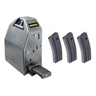 AR-15 ASAP ELECTRONIC MAGAZINE LOADER W/ 3 30-RD MAGAZINES