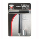T-HANDLE SHORT STARTER AND RAMROD EXTENSION