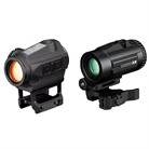 SPARC SOLAR RED DOT SIGHT W/ MICRO 3X MAGNIFIER