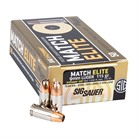 MATCH ELITE 9MM LUGER JACKETED HOLLOW POINT AMMO