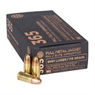 ELITE BALL 365 9MM LUGER FULL METAL JACKET AMMO
