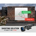 X-SIGHT II 5-20X SMART RIFLE SCOPE