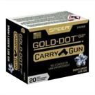 GOLD DOT CARRY GUN 9MM LUGER AMMO