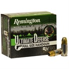 HD ULTIMATE DEFENSE AMMO 9MM LUGER +P 124GR JHP