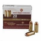 FRANGIBLE HANDGUN AMMUNITION