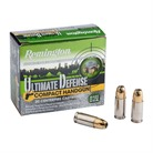 ULTIMATE DEFENSE AMMO 9MM LUGER 124GR BJHP