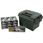 TEN RING 9MM 115GR FMJ 500 RND AMMO CAN