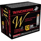 TRAIN & DEFEND AMMO 38 SPECIAL 130GR JHP