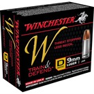 TRAIN & DEFEND AMMO 9MM LUGER 147GR JHP