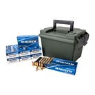 SPORT SHOOTING AMMO 9MM LUGER 115GR FMJ AMMO CAN