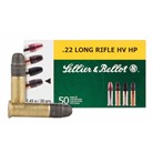HIGH VELOCITY HOLLOW POINT AMMO 22 LONG RIFLE 38GR LEAD HP