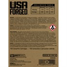 USA FORGED AMMO 9MM LUGER 115GR FMJ